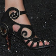 Milla Jovovich Strappy Sandals
