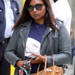 Mindy Kaling Clothes - Leather Jacket