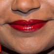 Mindy Kaling Red Lipstick