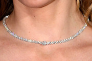Mira Sorvino Diamond Tennis Necklace