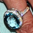 Mira Sorvino Jewelry - Gemstone Ring