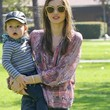 Miranda Kerr Clothes - Loose Blouse
