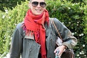 Molly Sims Solid Scarf
