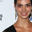 Morena Baccarin Gold Dangle Earrings