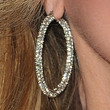 Morgan Fairchild Jewelry - Diamond Hoops