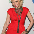 Natasha Bedingfield Bronze Statement Necklace