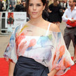 Neve Campbell Loose Blouse
