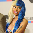 Nicki Minaj Hair - Long Straight Cut with Bangs