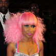 Nicki Minaj Hair - Medium Curls with Bangs