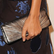 Nicole Richie Metallic Clutch