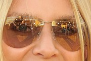 Nicollette Sheridan Aviator Sunglasses