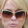 Nicollette Sheridan Butterfly Sunglasses