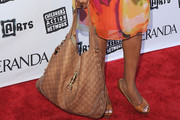 Niecy Nash Leather Shoulder Bag