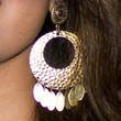 Noreen Khan Jewelry - Gold Hoops