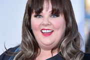 Melissa McCarthy Medium Wavy Cut with Bangs