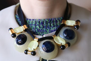 Olga Sorokina Beaded Collar Necklace