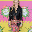 Olivia Holt Clothes - Print Dress