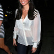 Olivia Munn Clothes - Button Down Shirt