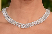 Olivia Munn Diamond Collar Necklace