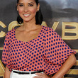 Olivia Munn Clothes - Print Blouse