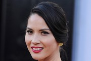 Olivia Munn Twisted Bun
