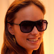 Olivia Wilde Sunglasses - Designer Shield Sunglasses