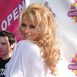 Pamela Anderson Hair - Long Curls with Bangs