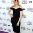 Patricia Clarkson Clothes - Off-the-Shoulder Dress