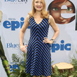 Patricia Clarkson Clothes - Print Dress