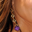 Paula Abdul Jewelry - Gold Dangle Earrings