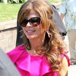 Paula Abdul Long Curls