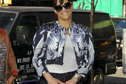 Paula Patton Cropped Jacket