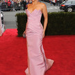 Paula Patton Clothes - Strapless Dress