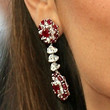 Penelope Cruz Jewelry - Dangling Gemstone Earrings
