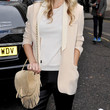 Poppy Delevingne Handbags - Suede Shoulder Bag