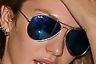 Candice Swanepoel Aviator Sunglasses