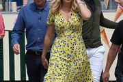 Holly Willoughby Print Dress
