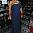 Queen Latifah Clothes - One Shoulder Dress