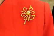 Queen Sofia Gold Brooch