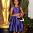 Quvenzhane Wallis Cocktail Dress