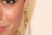 Rachel Bilson Gold Chandelier Earrings