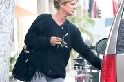 Rachel Hunter V-neck Sweater