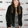 Rachel Mccord Clothes - Fur Coat