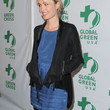 Radha Mitchell Clothes - Leather Jacket