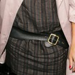 Rashida Jones Leather Belt