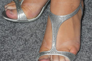 Rebel Wilson Evening Sandals
