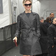 Renee Zellweger Leather Coat
