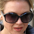 Renee Zellweger Oval Sunglasses