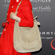 Renee Zellweger Suede Shoulder Bag