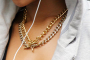 Rihanna Gold Chain